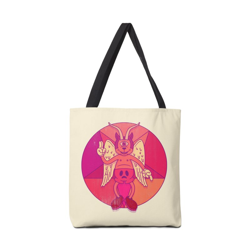 Georgie Goat Accessories Tote Bag Bag by Quick Brown Fox