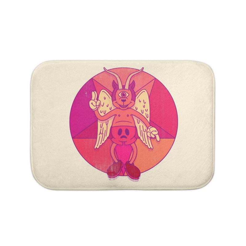 Georgie Goat Home Bath Mat by Quick Brown Fox
