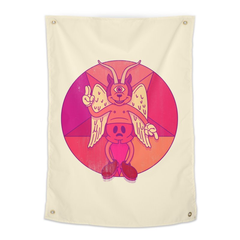 Georgie Goat Home Tapestry by Quick Brown Fox