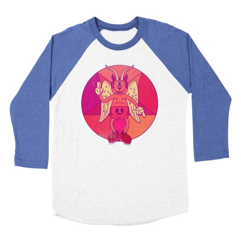 Georgie Goat Women's Baseball Triblend Longsleeve T-Shirt by Quick Brown Fox