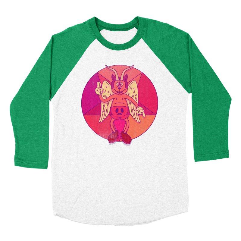 Georgie Goat Women's Baseball Triblend T-Shirt by Quick Brown Fox