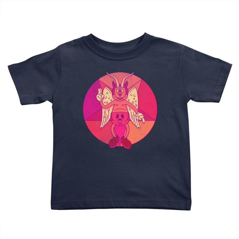 Georgie Goat Kids Toddler T-Shirt by Quick Brown Fox