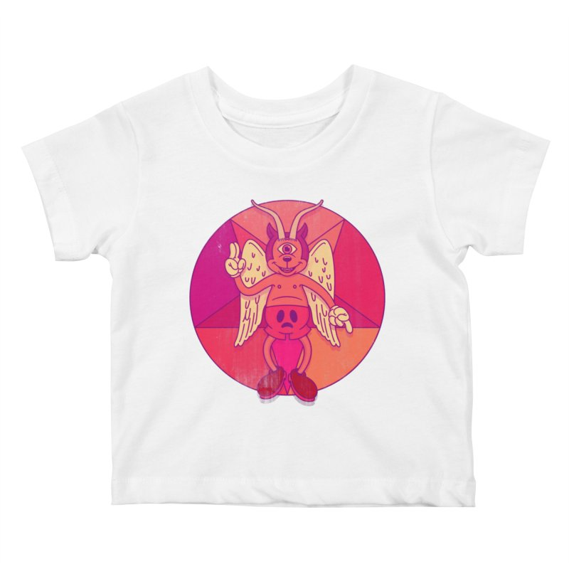 Georgie Goat Kids Baby T-Shirt by Quick Brown Fox