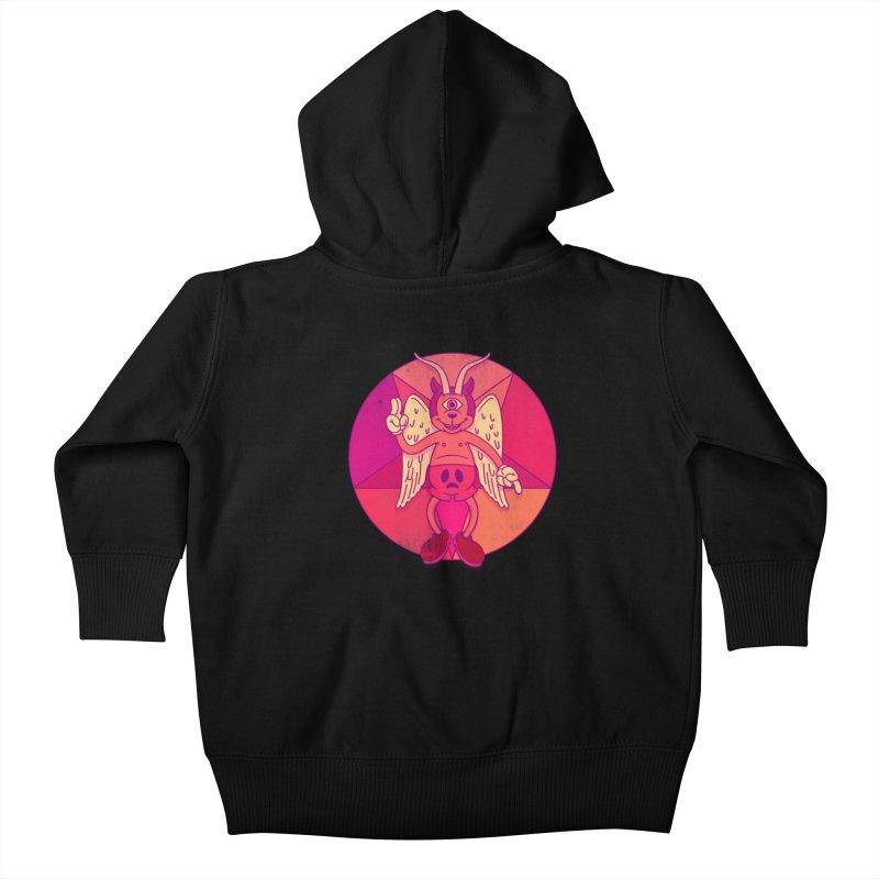 Georgie Goat Kids Baby Zip-Up Hoody by Quick Brown Fox