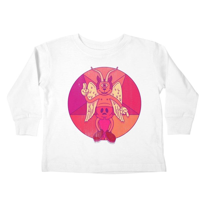 Georgie Goat Kids Toddler Longsleeve T-Shirt by Quick Brown Fox