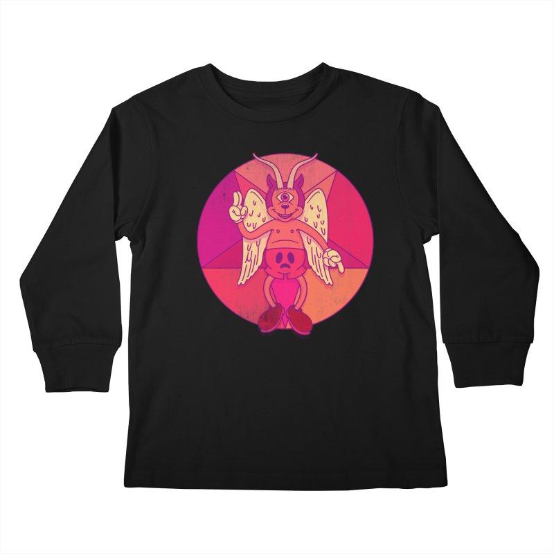 Georgie Goat Kids Longsleeve T-Shirt by Quick Brown Fox