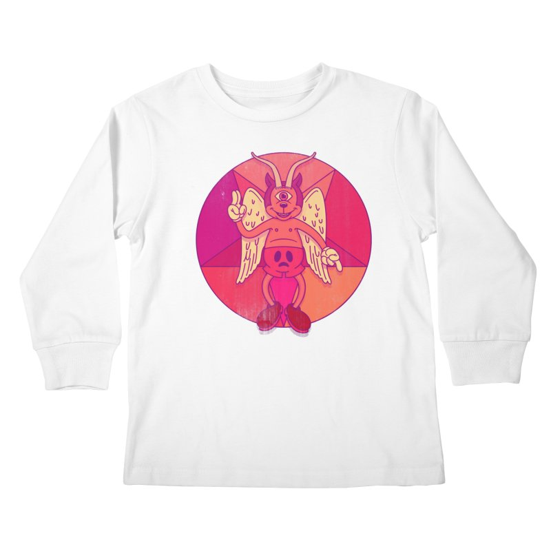 Georgie Goat Kids Longsleeve T-Shirt by Quick Brown Fox