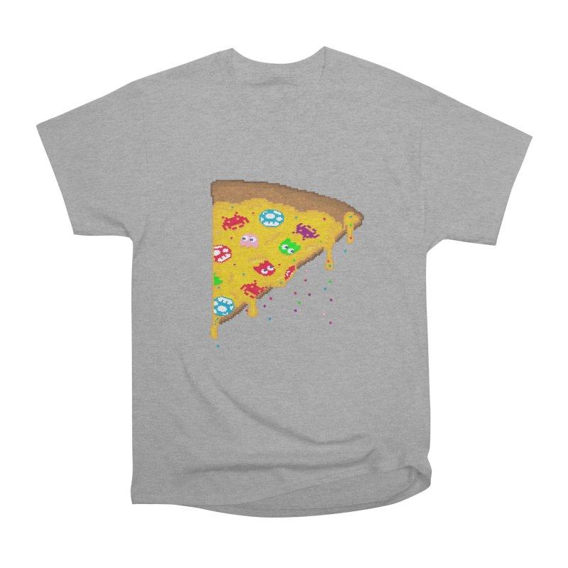 8-Bizza Men's Heavyweight T-Shirt by Quick Brown Fox