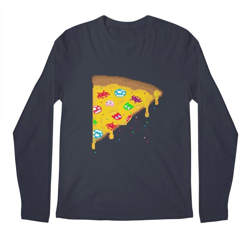 8-Bizza Men's Longsleeve T-Shirt by Quick Brown Fox
