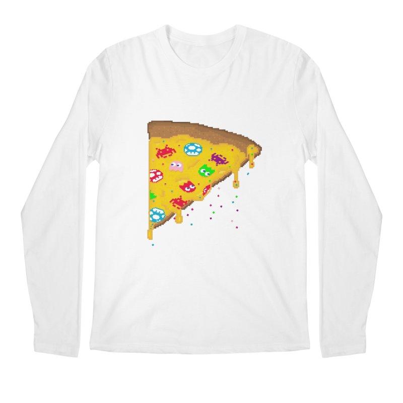 8-Bizza Men's Regular Longsleeve T-Shirt by Quick Brown Fox