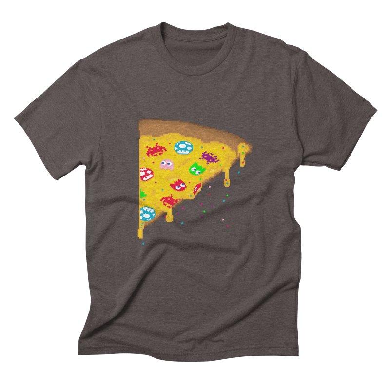 8-Bizza Men's Triblend T-Shirt by Quick Brown Fox