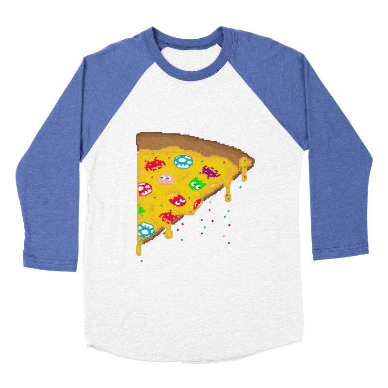 8-Bizza Men's Baseball Triblend T-Shirt by Quick Brown Fox