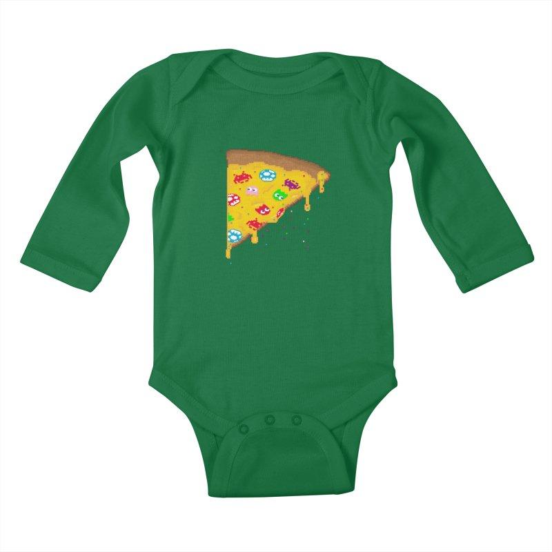 8-Bizza Kids Baby Longsleeve Bodysuit by Quick Brown Fox