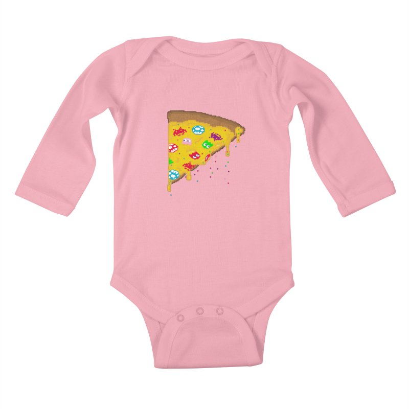8-Bizza Kids Baby Longsleeve Bodysuit by Quick Brown Fox