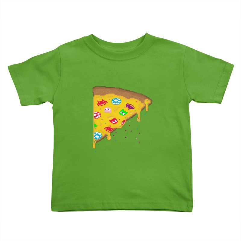 8-Bizza Kids Toddler T-Shirt by Quick Brown Fox