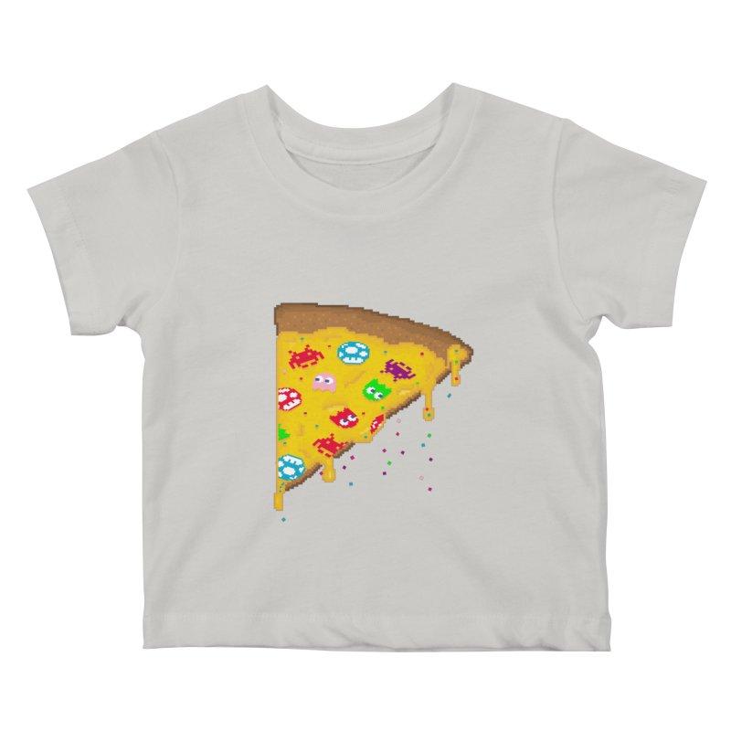 8-Bizza Kids Baby T-Shirt by Quick Brown Fox
