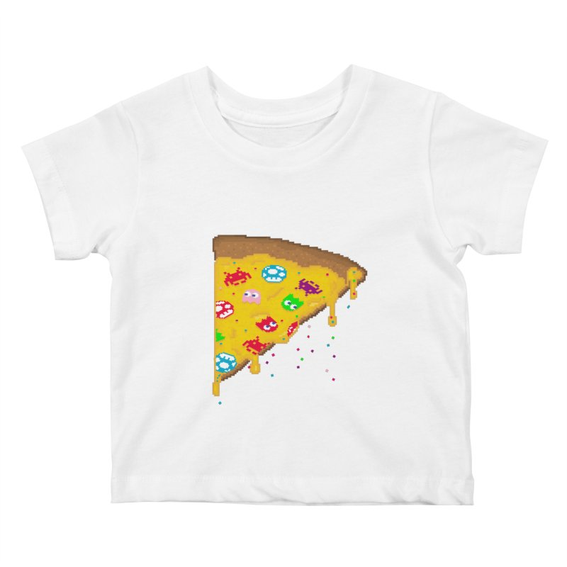 8-Bizza Kids Baby T-Shirt by Quick Brown Fox