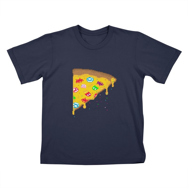 8-Bizza Kids T-Shirt by Quick Brown Fox