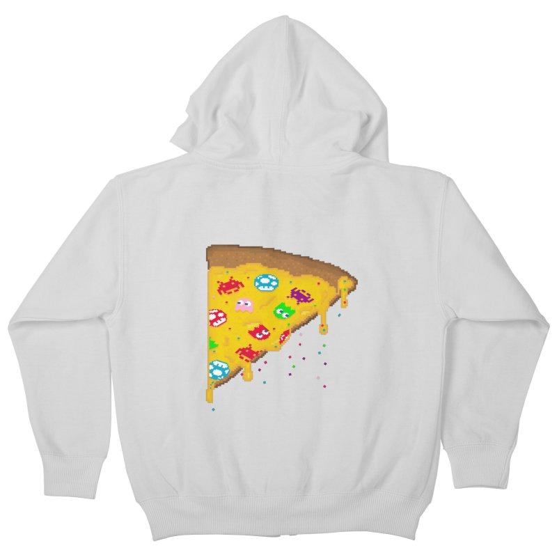 8-Bizza Kids Zip-Up Hoody by Quick Brown Fox
