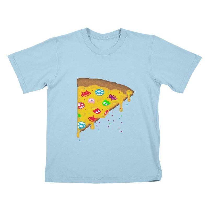 8-Bizza Kids T-Shirt by Quick Brown Fox