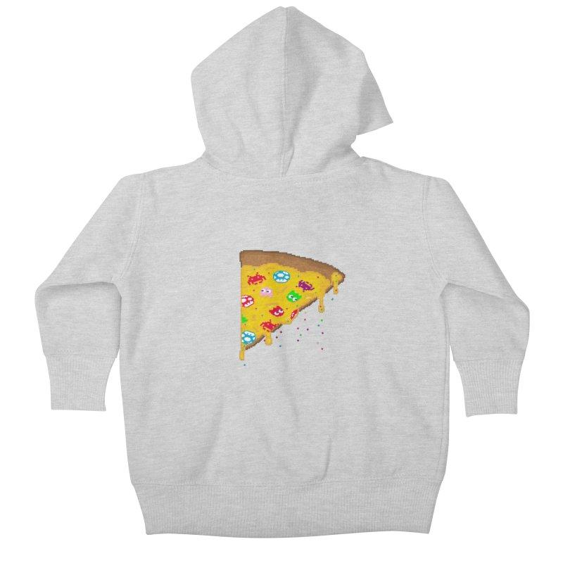 8-Bizza Kids Baby Zip-Up Hoody by Quick Brown Fox
