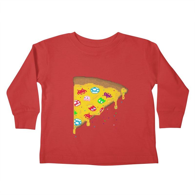 8-Bizza Kids Toddler Longsleeve T-Shirt by Quick Brown Fox
