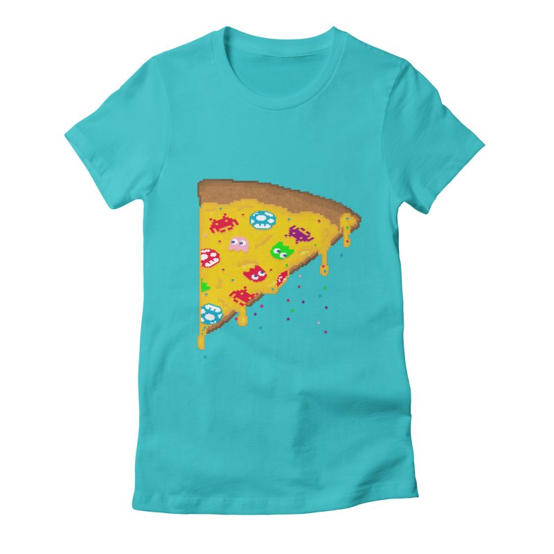 8-Bizza Women's Fitted T-Shirt by Quick Brown Fox