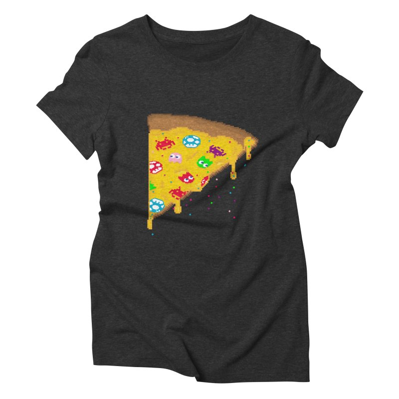 8-Bizza Women's Triblend T-Shirt by Quick Brown Fox