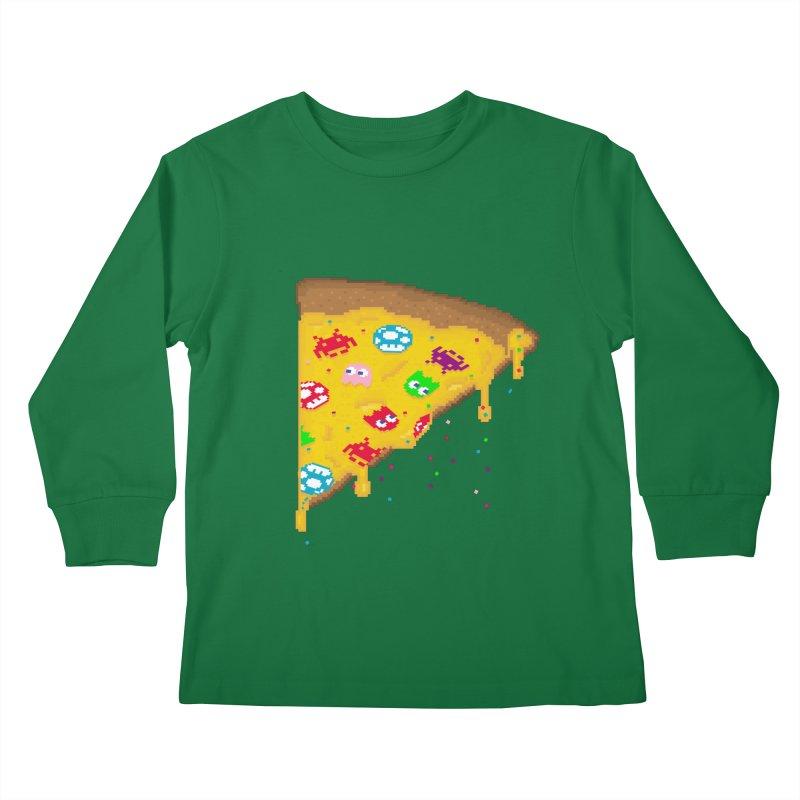 8-Bizza Kids Longsleeve T-Shirt by Quick Brown Fox