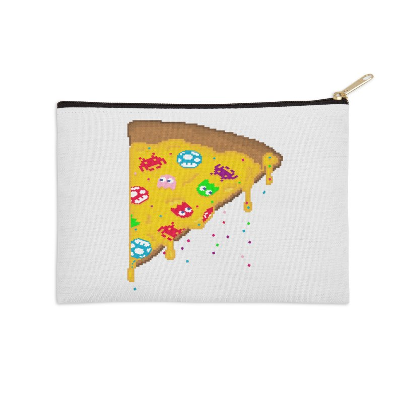 8-Bizza Accessories Zip Pouch by Quick Brown Fox