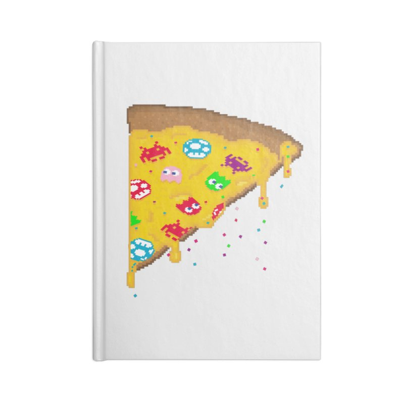 8-Bizza Accessories Blank Journal Notebook by Quick Brown Fox