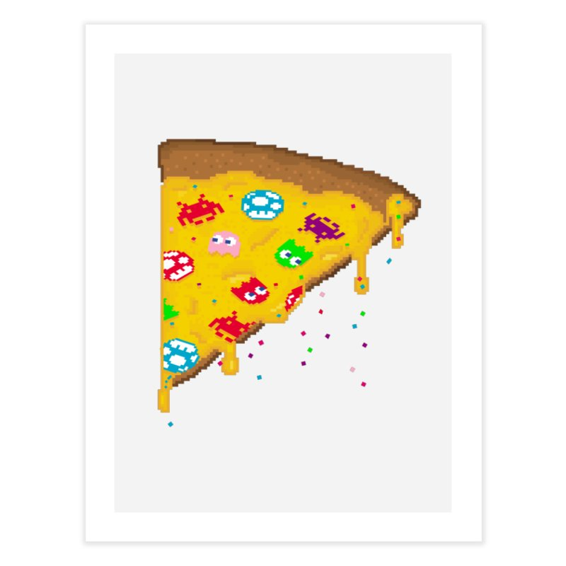 8-Bizza Home Fine Art Print by Quick Brown Fox