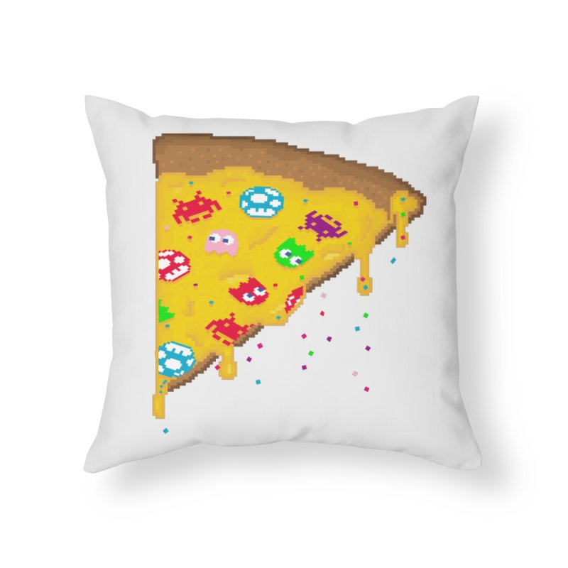 8-Bizza Home Throw Pillow by Quick Brown Fox