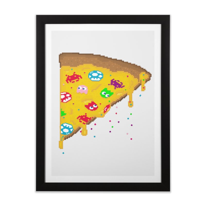 8-Bizza Home Framed Fine Art Print by Quick Brown Fox