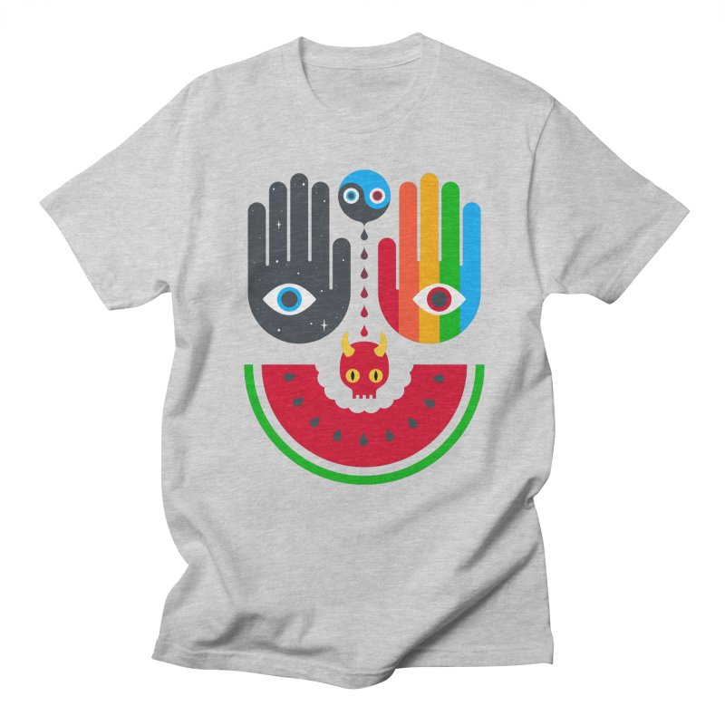 Idle Hands Men's T-Shirt by Quick Brown Fox