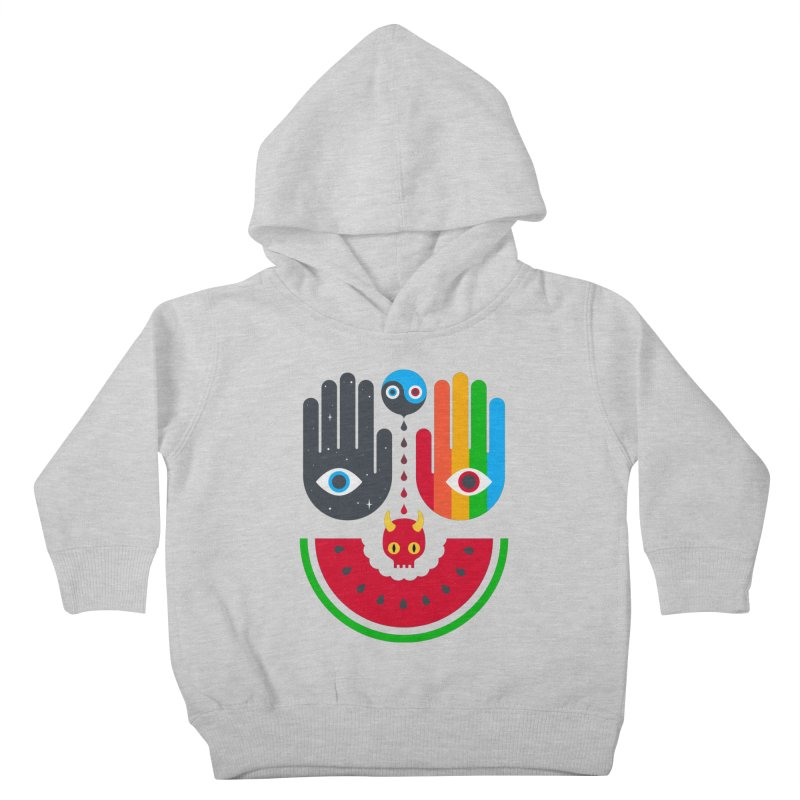 Idle Hands Kids Toddler Pullover Hoody by Quick Brown Fox