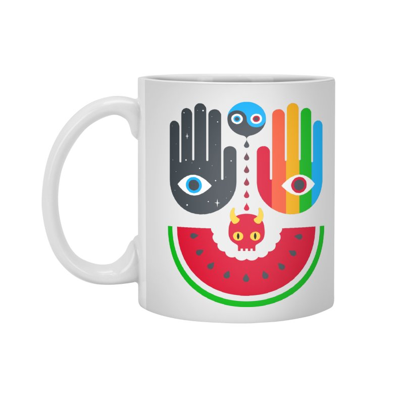 Idle Hands Accessories Standard Mug by Quick Brown Fox