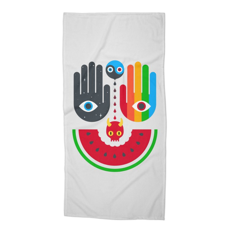 Idle Hands Accessories Beach Towel by Quick Brown Fox