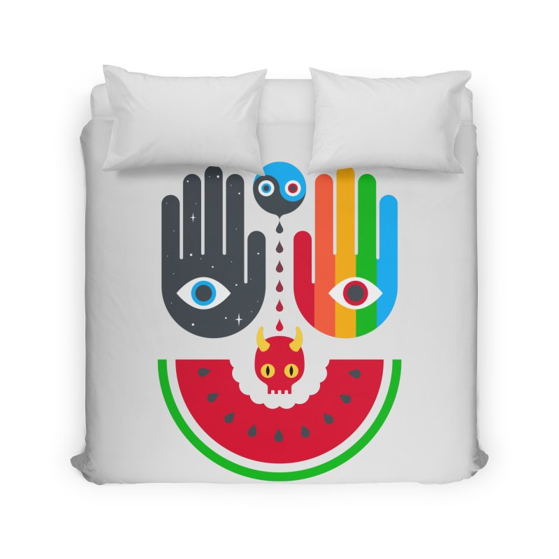 Idle Hands Home Duvet by Quick Brown Fox