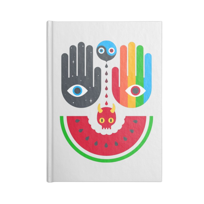 Idle Hands Accessories Notebook by Quick Brown Fox
