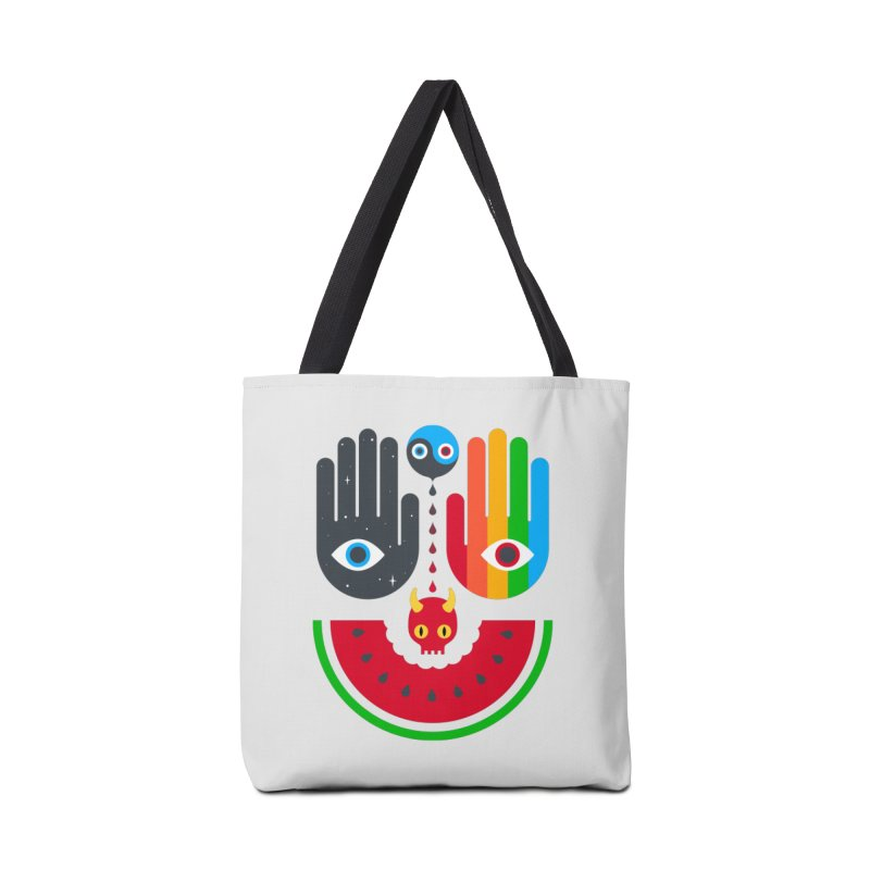 Idle Hands Accessories Tote Bag Bag by Quick Brown Fox