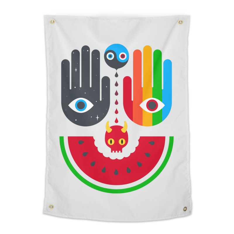 Idle Hands Home Tapestry by Quick Brown Fox
