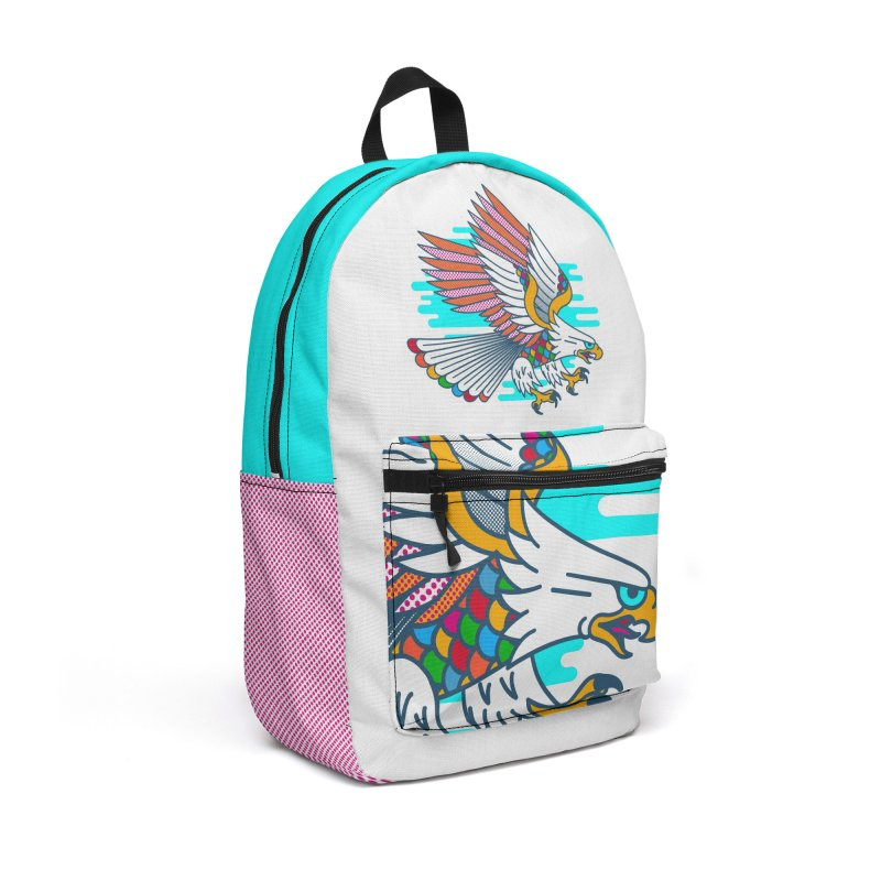 Flight of Fancy Accessories Backpack Bag by Quick Brown Fox