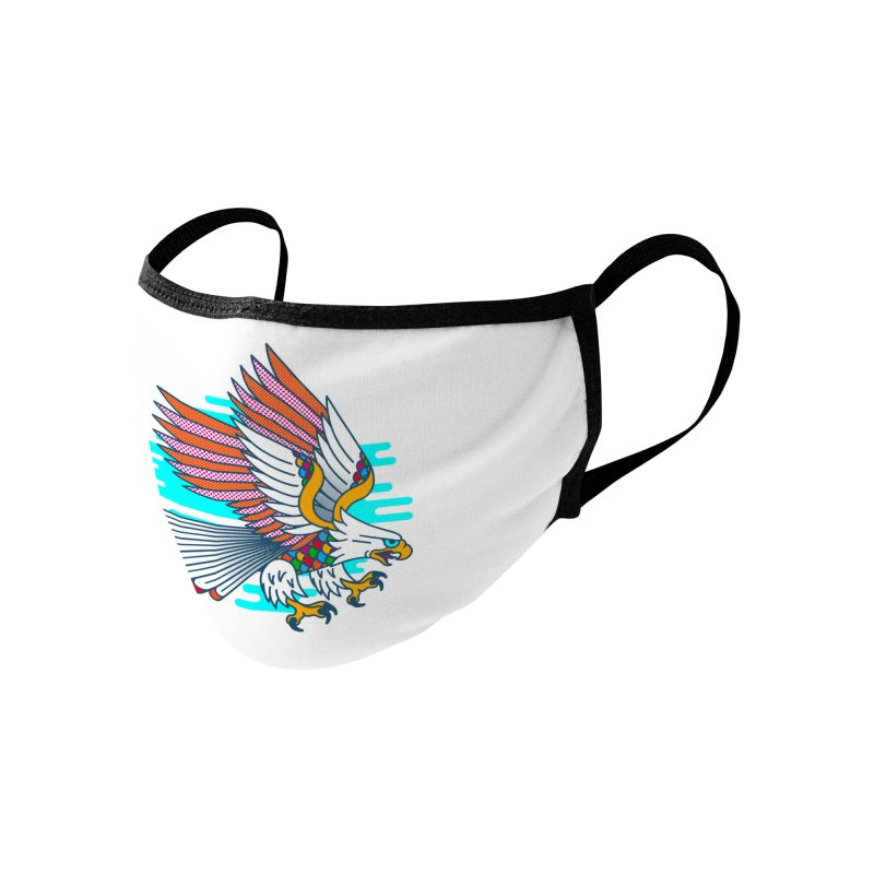 Flight of Fancy Accessories Face Mask by Quick Brown Fox