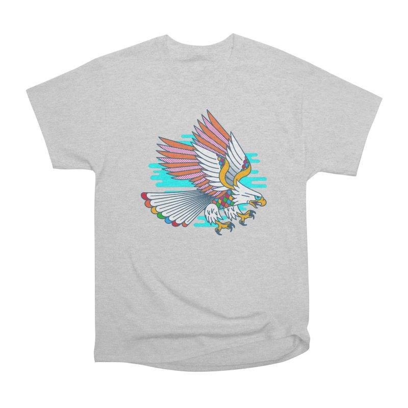 Flight of Fancy Women's Heavyweight Unisex T-Shirt by Quick Brown Fox