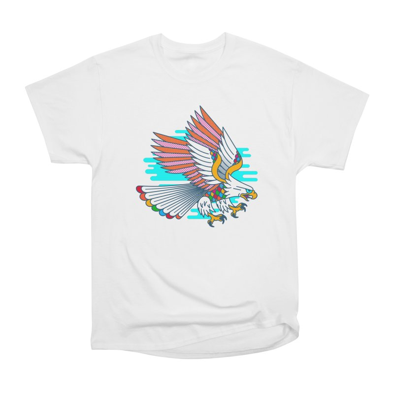 Flight of Fancy Women's Heavyweight Unisex T-Shirt by Quick Brown Fox