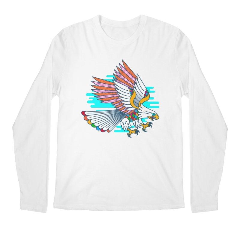 Flight of Fancy Men's Regular Longsleeve T-Shirt by Quick Brown Fox