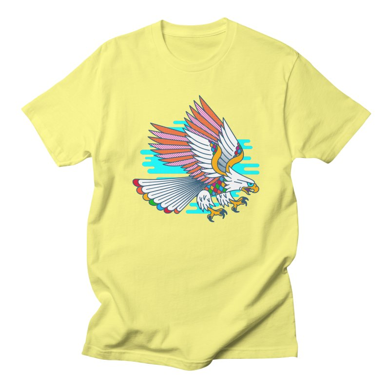 Flight of Fancy Men's T-Shirt by Quick Brown Fox