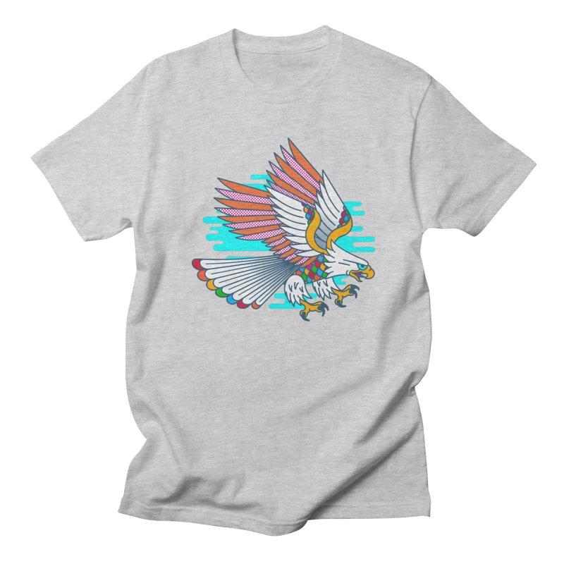 Flight of Fancy Men's T-Shirt by Quick Brown Fox