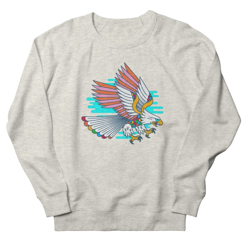 Flight of Fancy Men's French Terry Sweatshirt by Quick Brown Fox